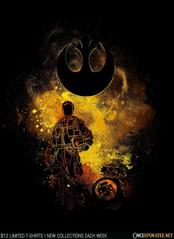 Once Upon a Tee: Poe Art