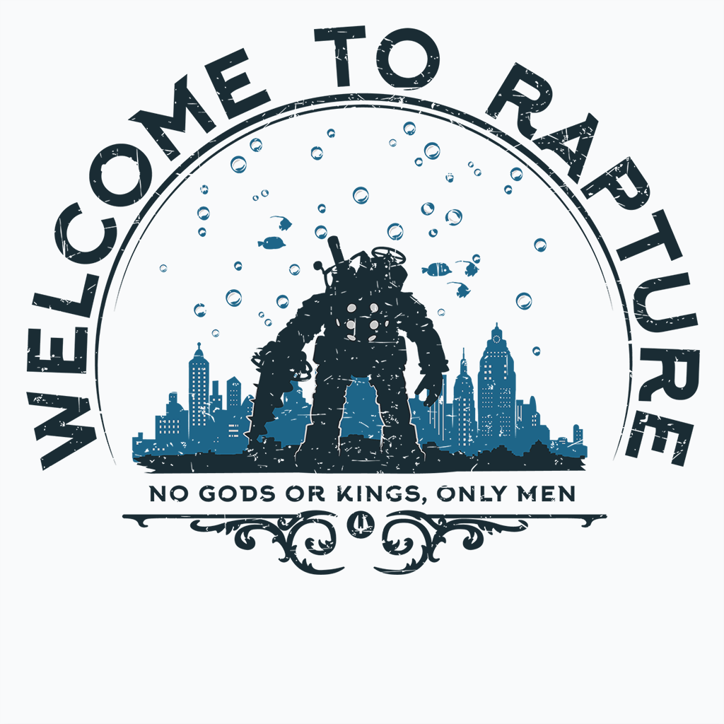 Pop-Up Tee: Welcome to Rapture