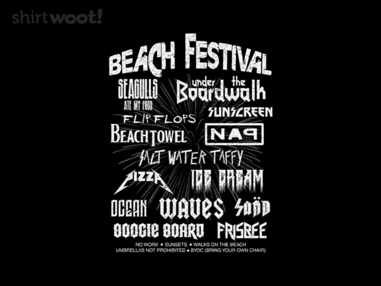 Woot!: Beach Festival - $15.00 + Free shipping