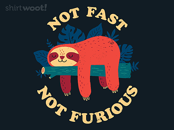 Woot!: Not Fast, Not Furious