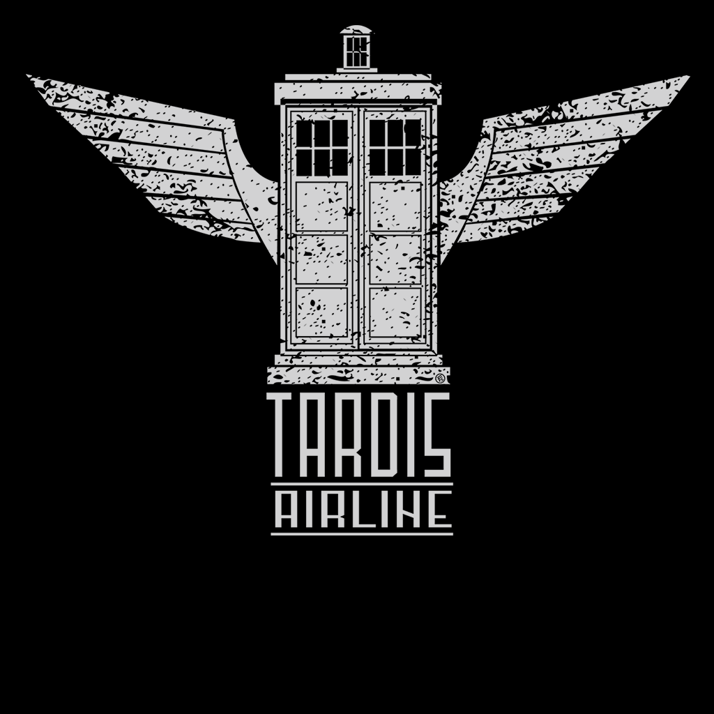 Pop-Up Tee: Tardis Airline