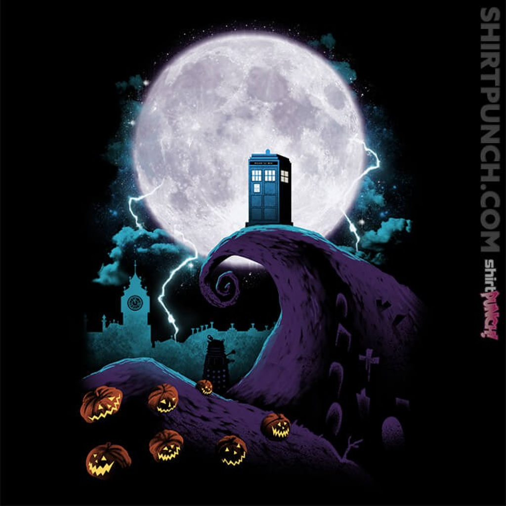 ShirtPunch: Nightmare Before Doctor Who