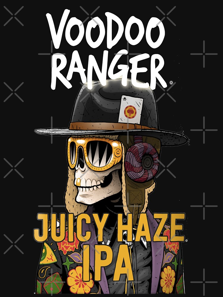 RedBubble: Voodoo Ranger Juicy Haze IPA New Belgium