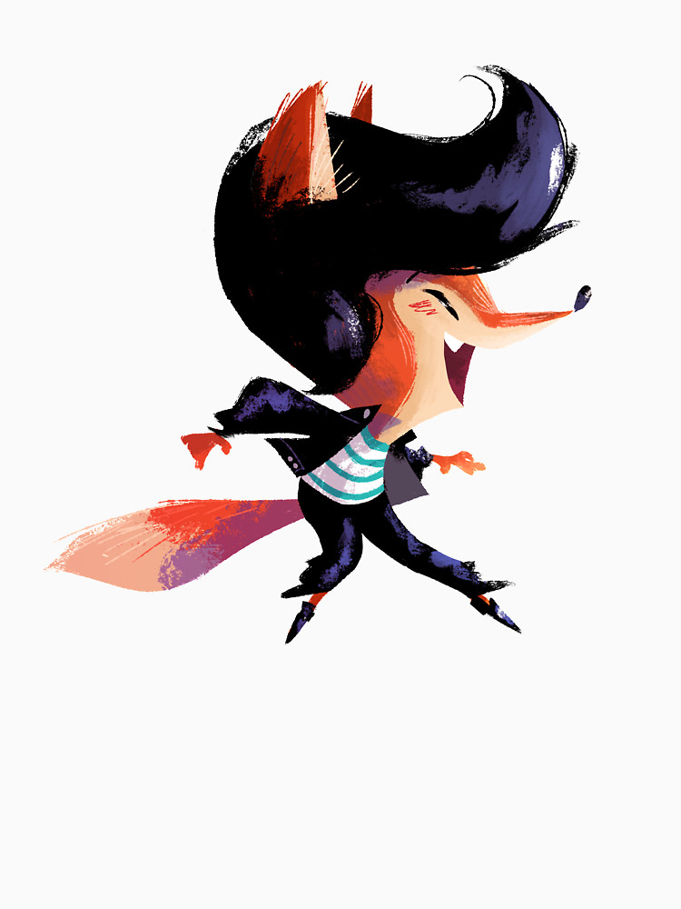 RedBubble: Dancing Fox