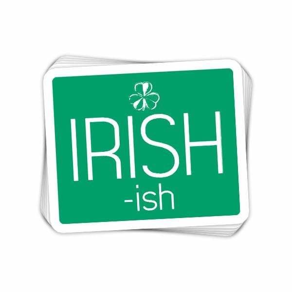 BustedTees: IRISH-ish Vinyl Sticker