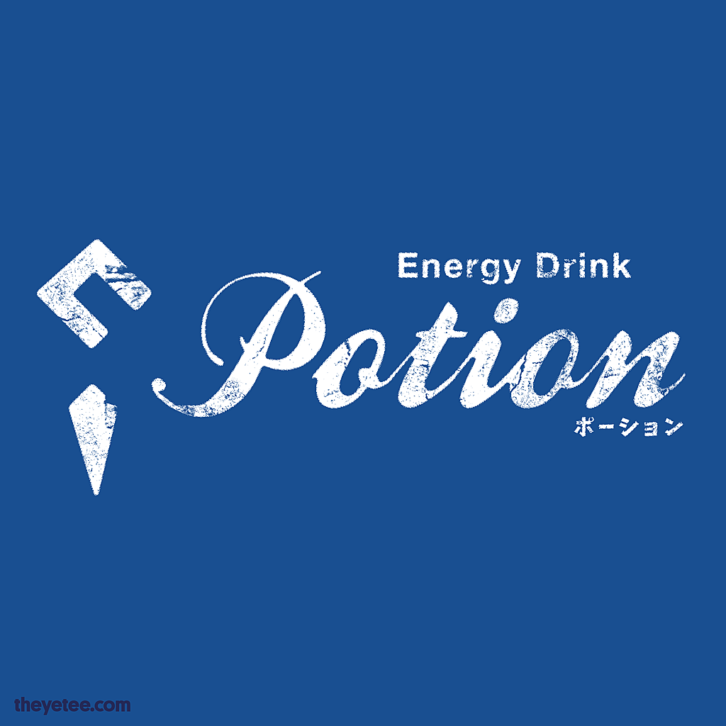 The Yetee: Potion Energy Drink