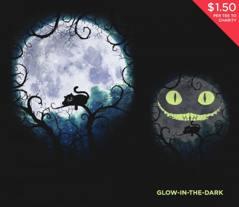 TeeFury: Wonderland Moon