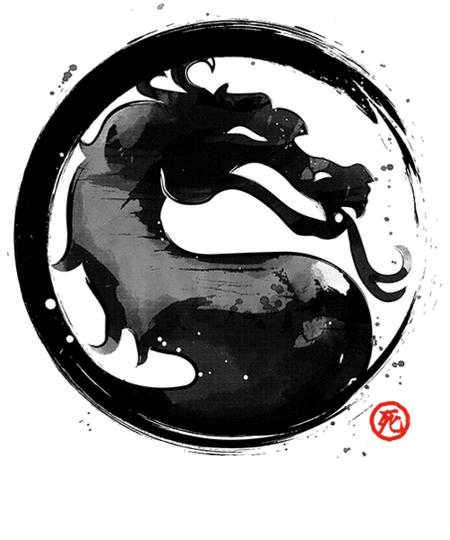 Qwertee: Mortal Ink
