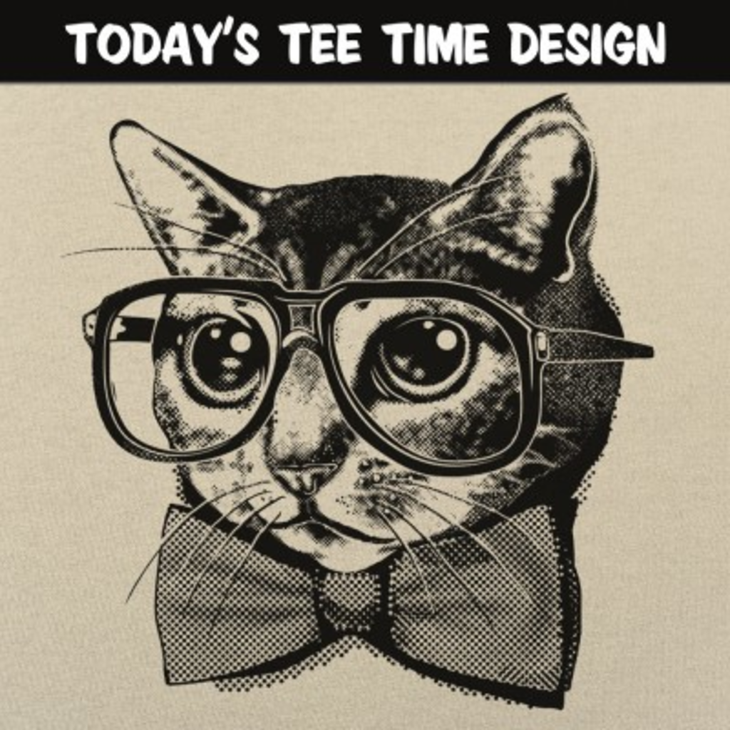 6 Dollar Shirts: Nerd Cat