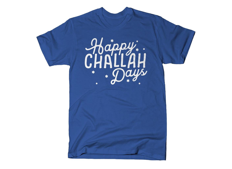SnorgTees: Happy Challah Days