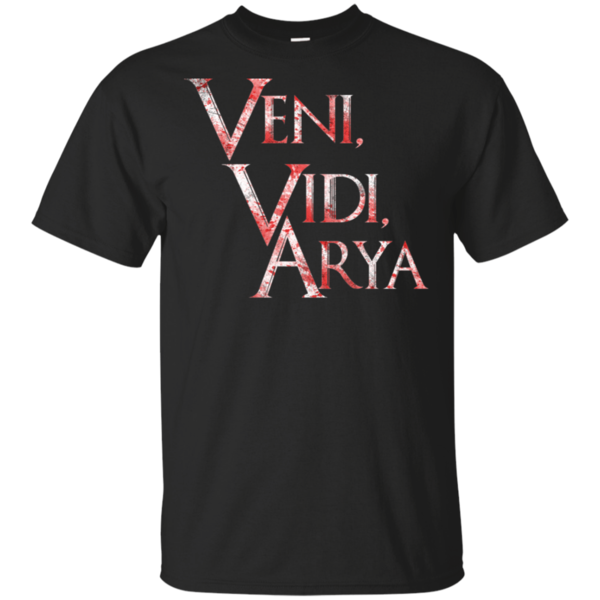 Pop-Up Tee: Veni, Vidi ,Arya