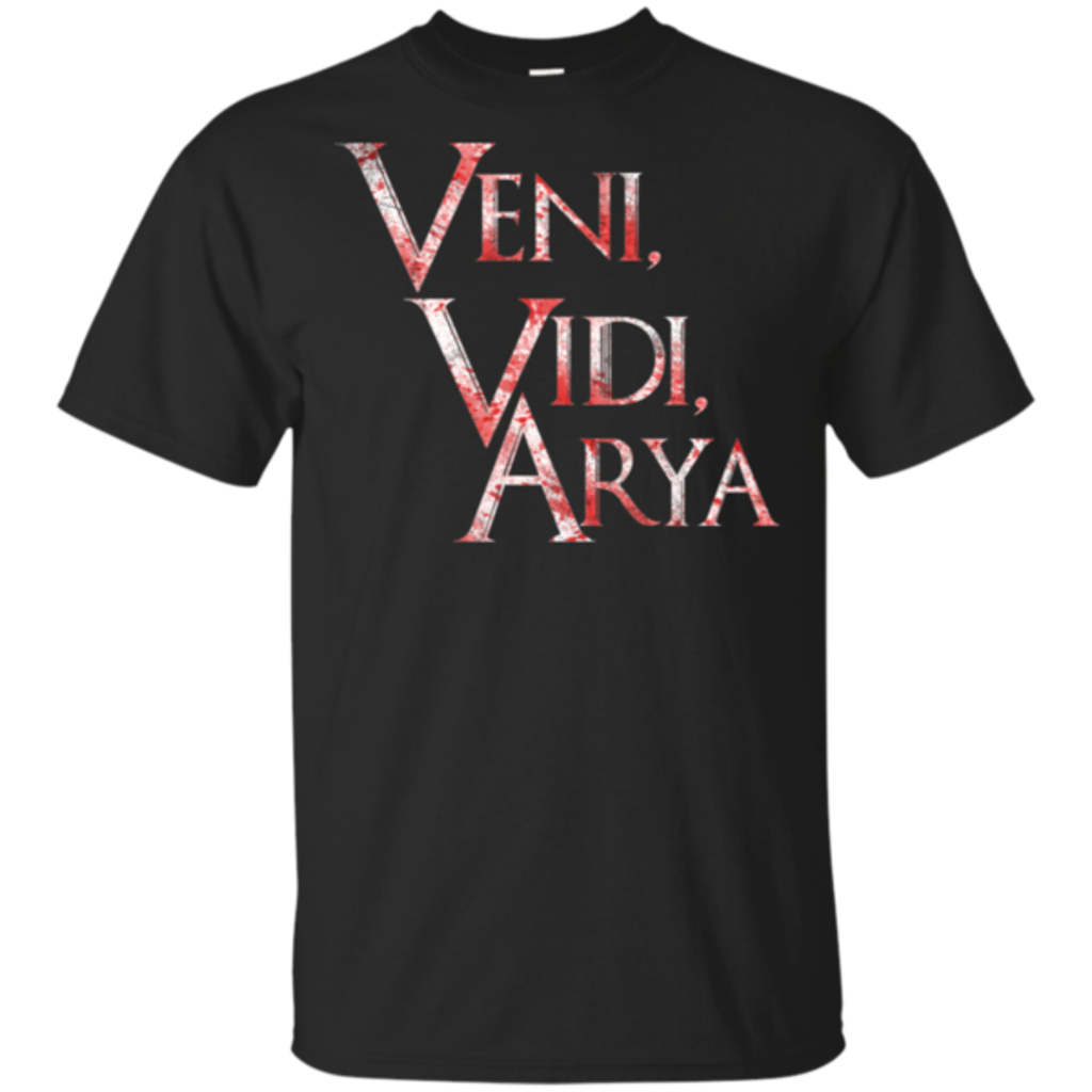 Pop-Up Tee: Veni, Vidi ,Arya