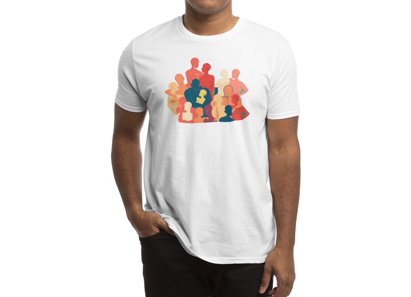 Threadless: Don't Camouflage Your Love