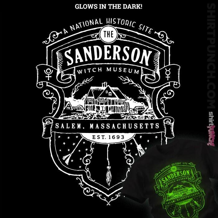ShirtPunch: Sanderson Witch Museum