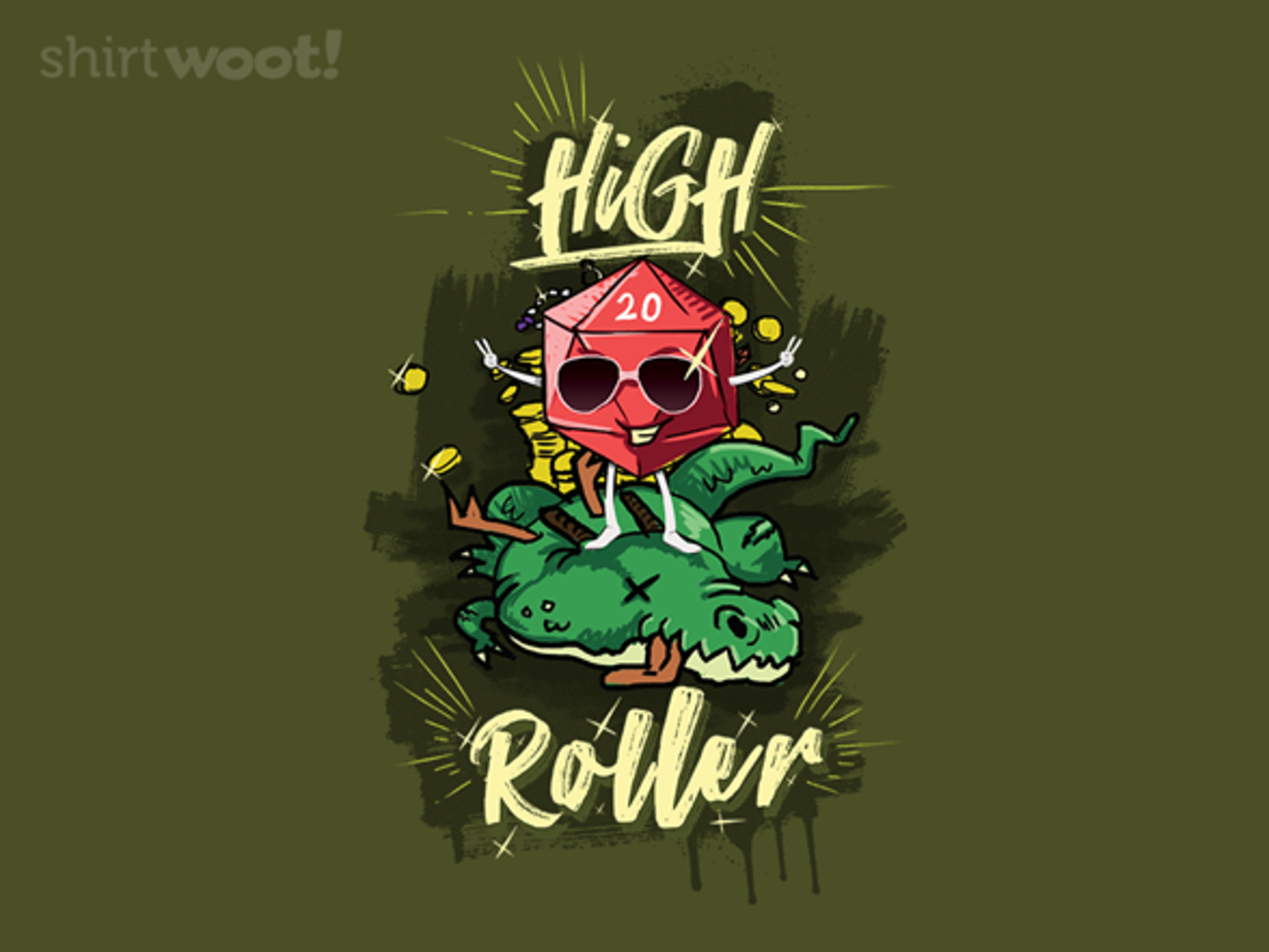 Woot!: High Roller Crew - $15.00 + Free shipping