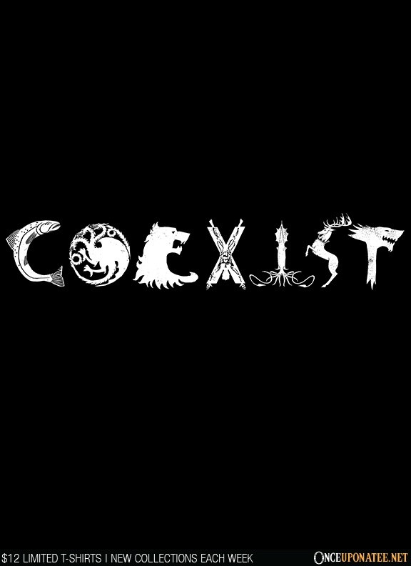 Once Upon a Tee: Coexist