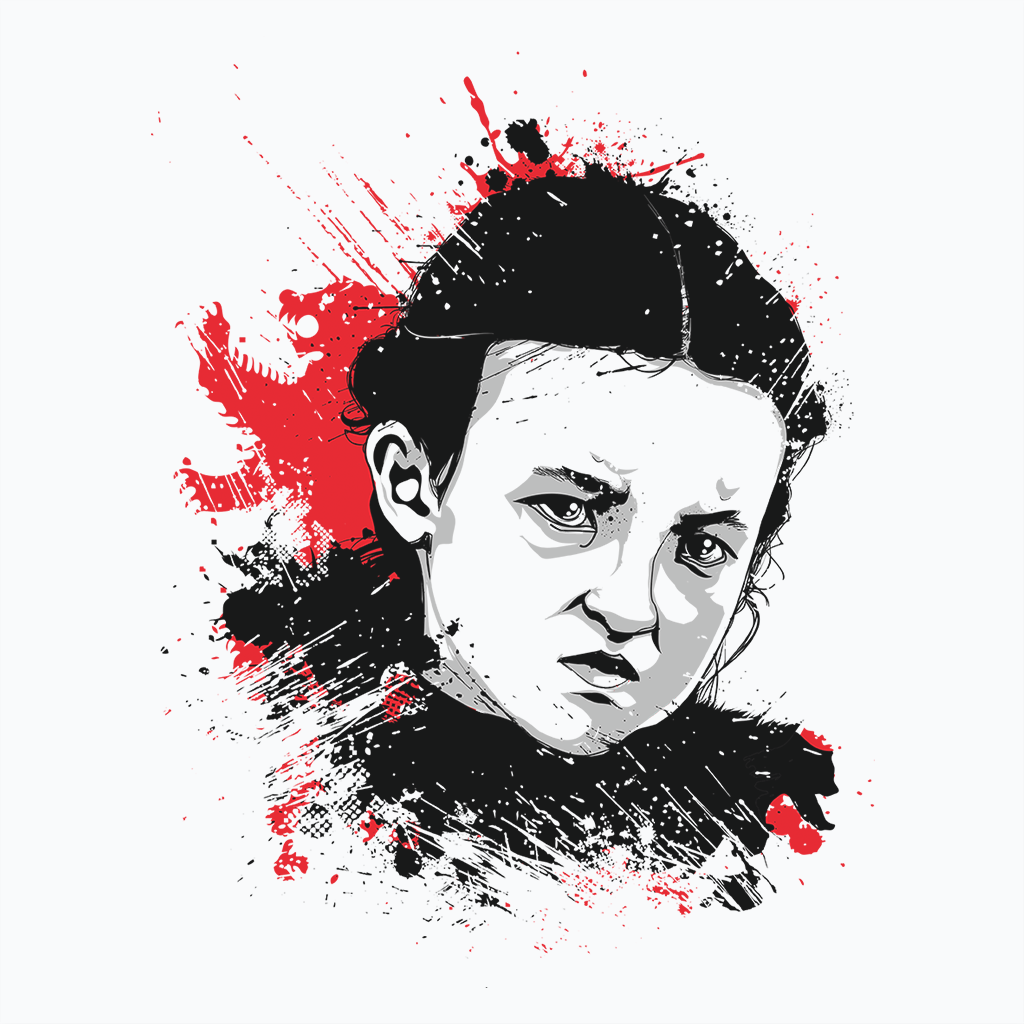 Pop-Up Tee: Lady Mormont