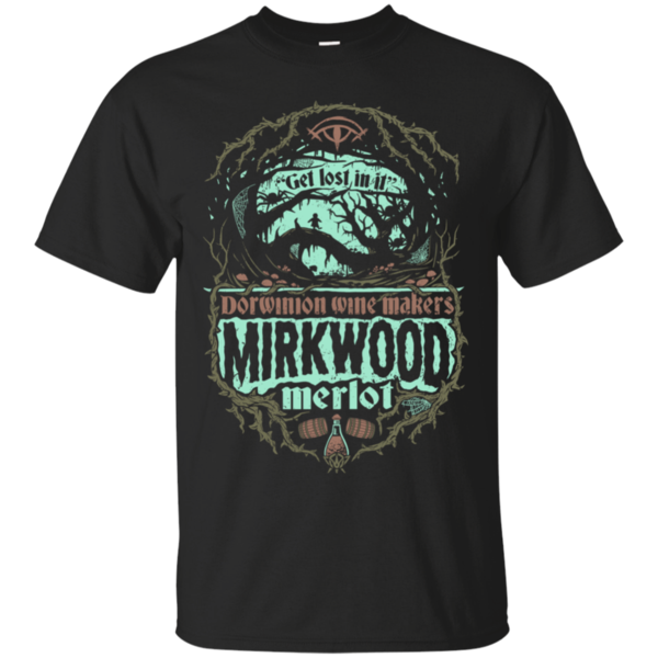 Pop-Up Tee: Mirkwood Merlot