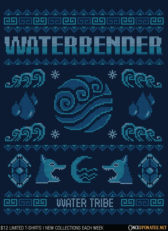 Once Upon a Tee: Water Tribe's Sweater