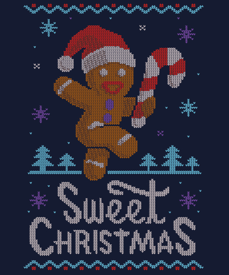 Qwertee: Sweet Holidays