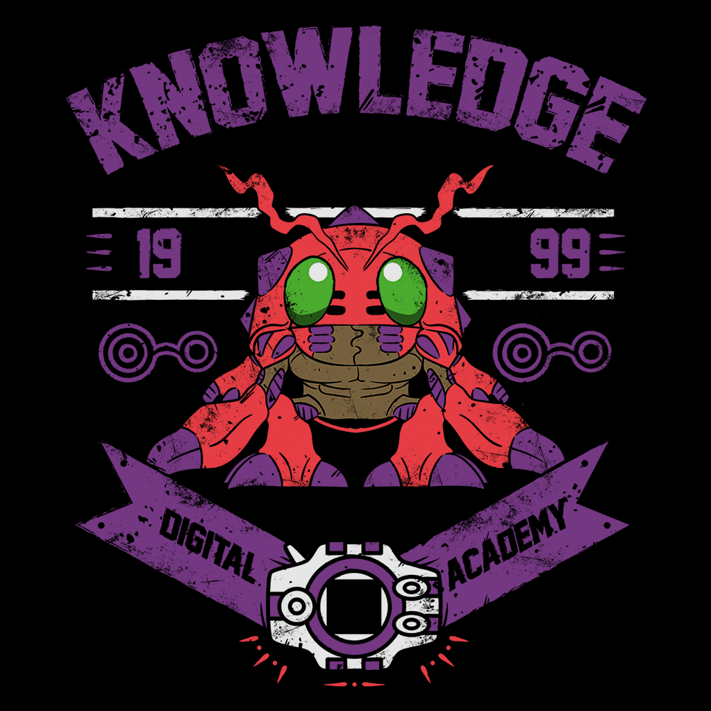 Pop-Up Tee: Knowledge Academy
