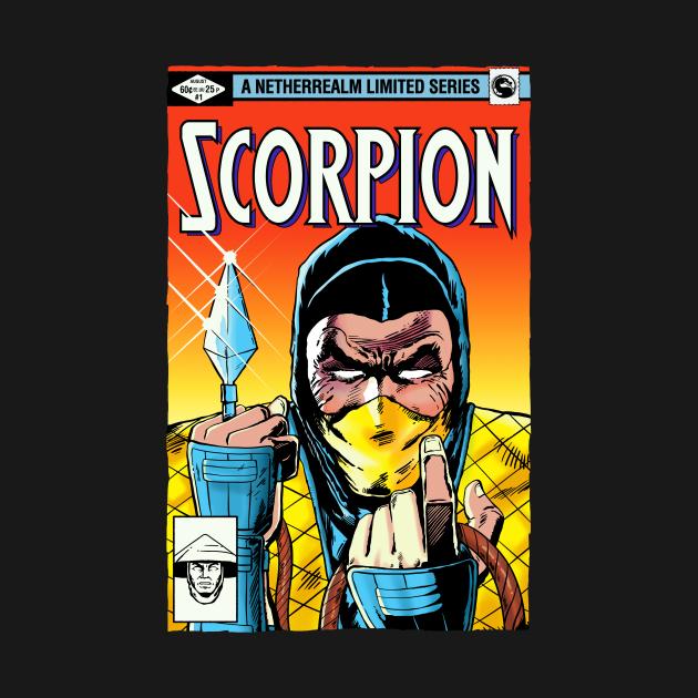 TeePublic: Scorpion Limited Series