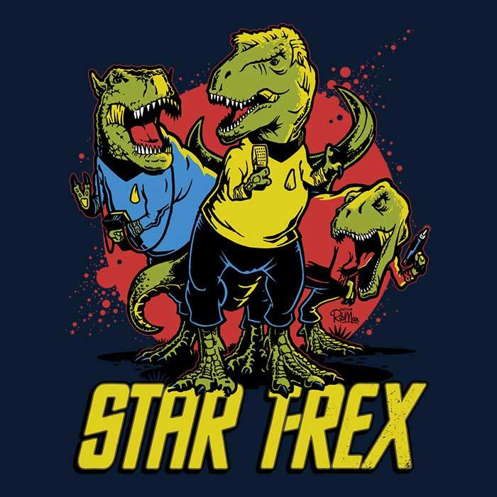 Once Upon a Tee: Star T-Rex