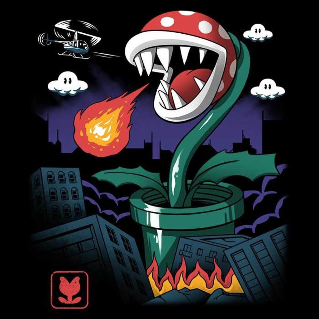 Once Upon a Tee: Piranha Kaiju