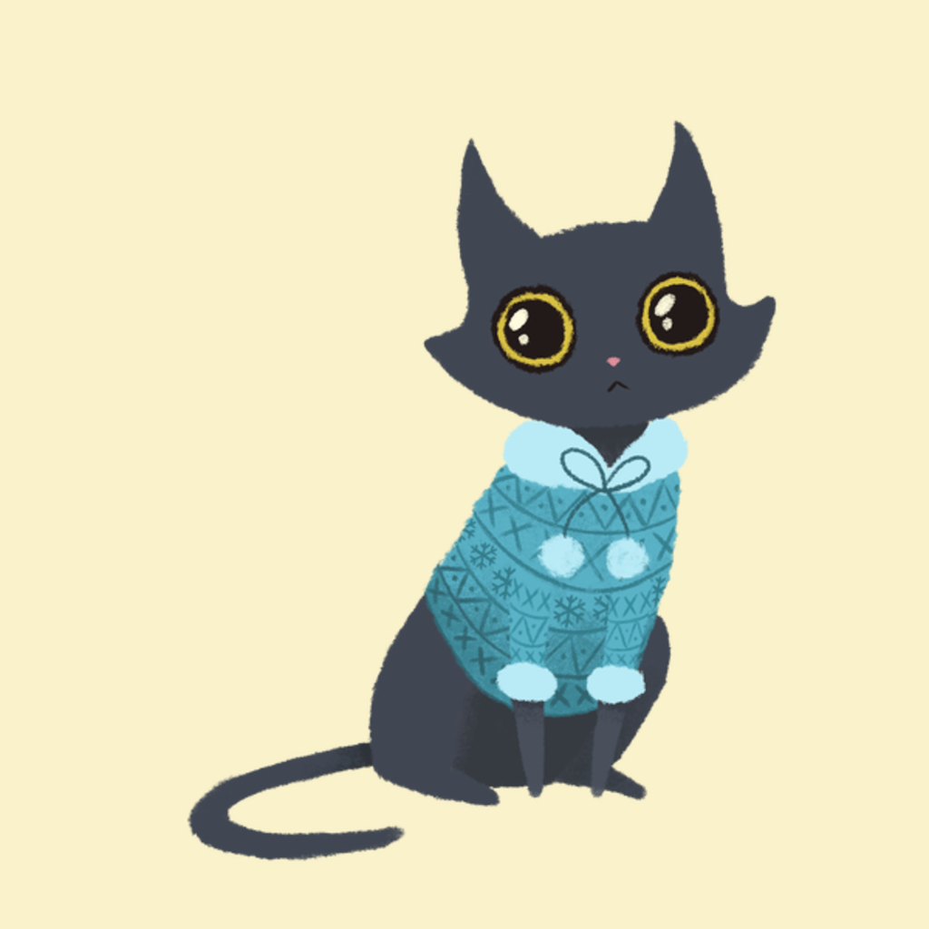 NeatoShop: Cozy cat