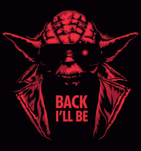 BustedTees: Back I'll Be