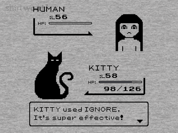 Woot!: Kitty Used Ignore