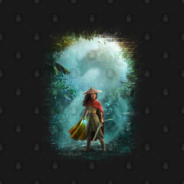 TeePublic: Raya and the Last Dragon