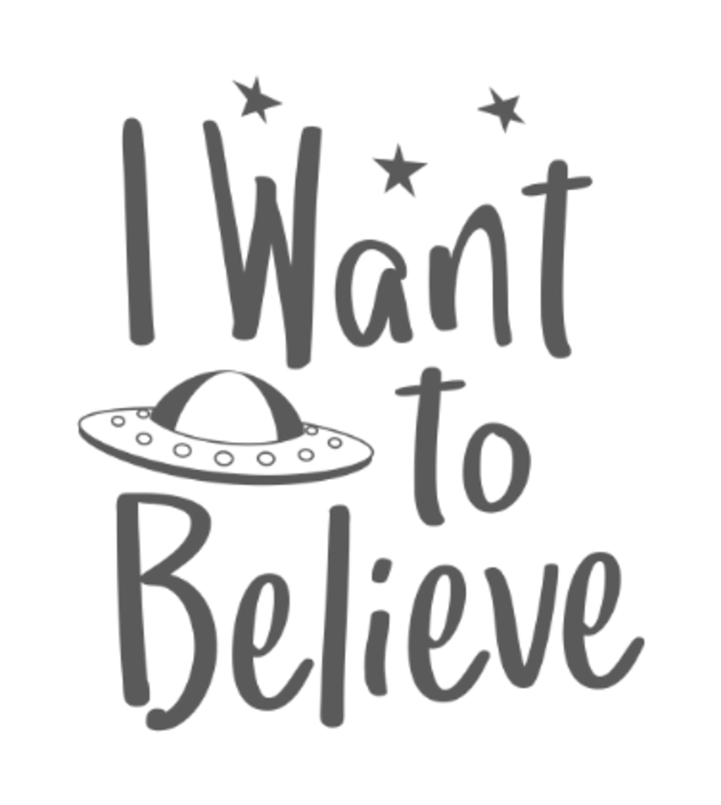 Shirt Battle: I want to Believe