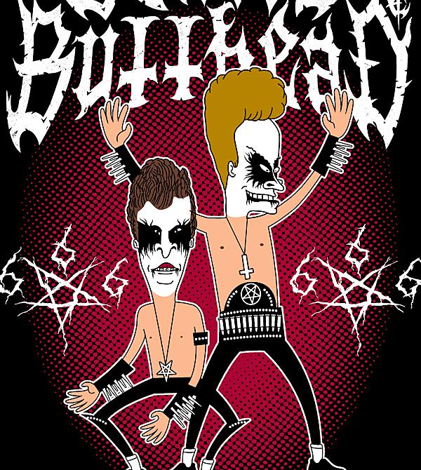 teeVillain: Black Metal BB
