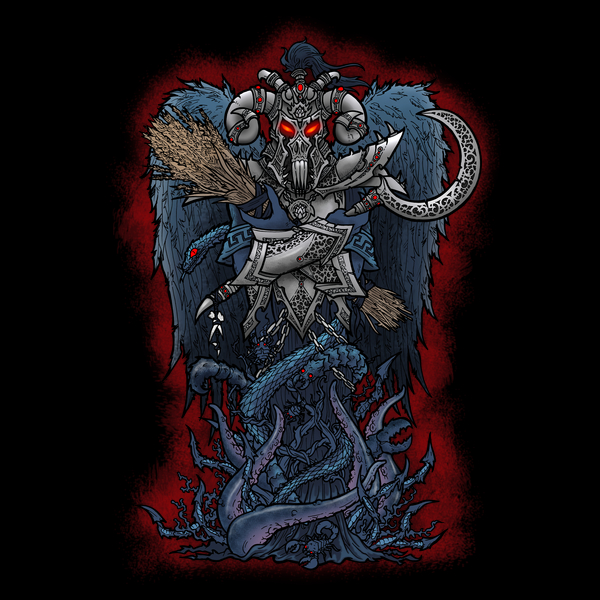 NeatoShop: Erebus - Fallen Angel T-Shirt