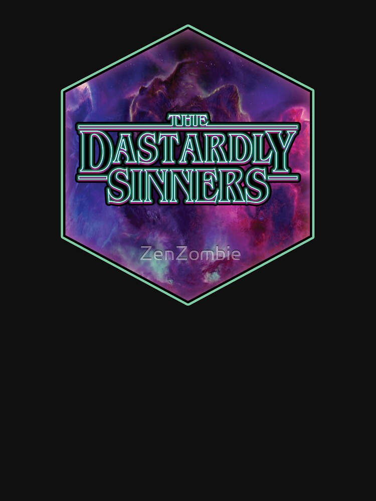 RedBubble: the Dastardly Sinners