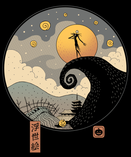 Qwertee: Nightmare in Edo