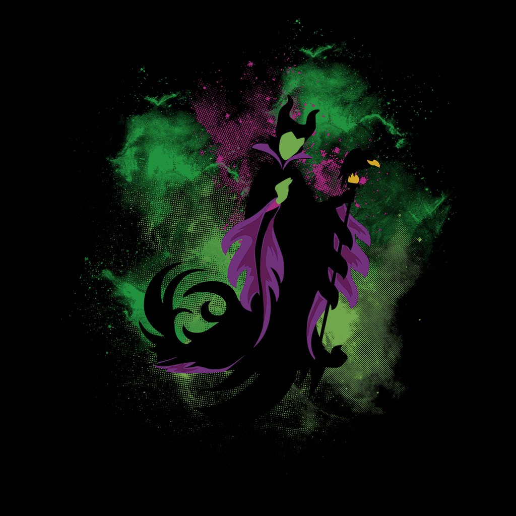 Pop-Up Tee: Maleficent Space