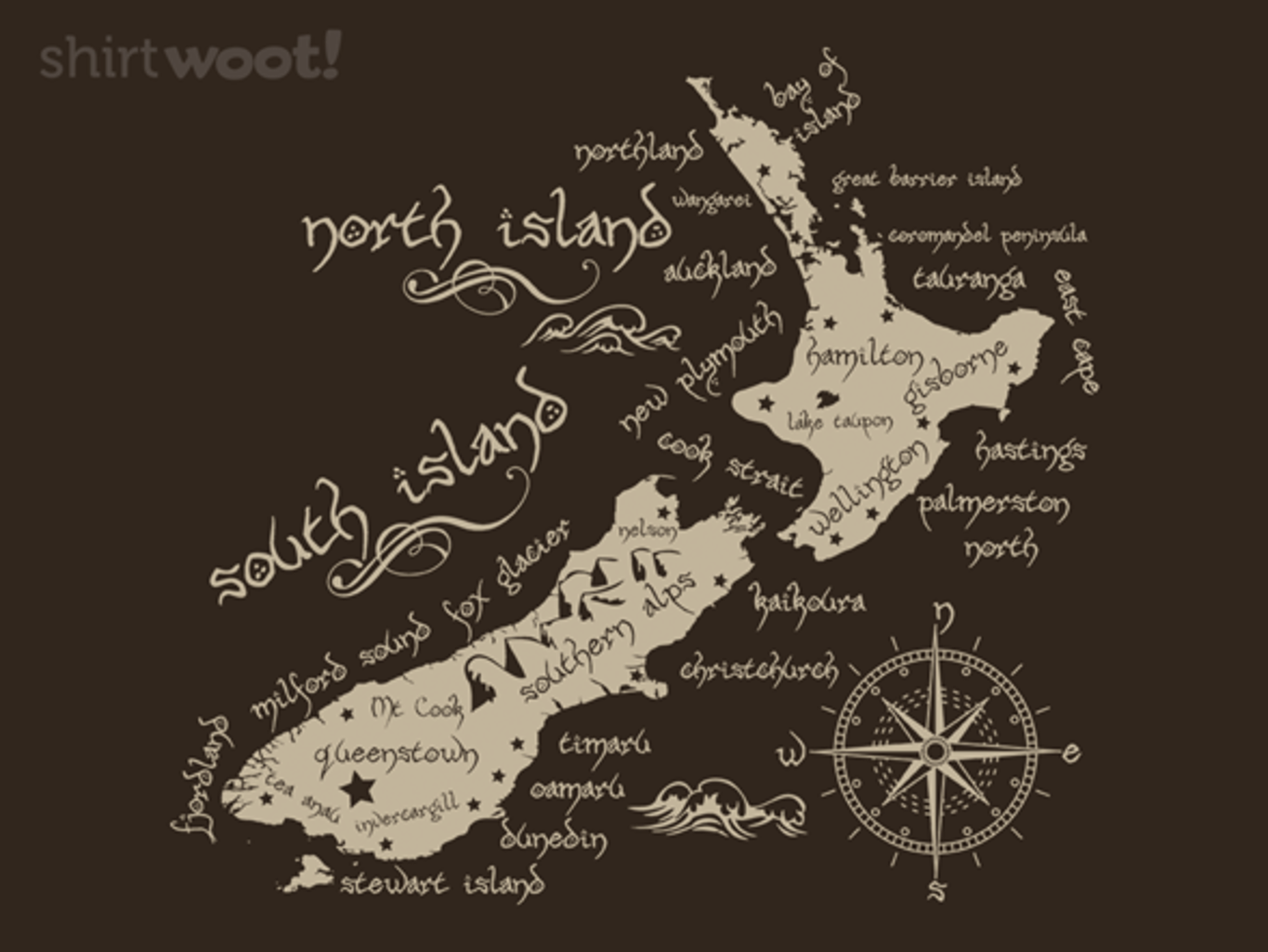 Woot!: Middle New Zealand