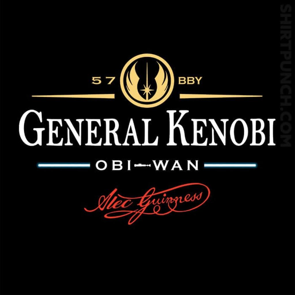ShirtPunch: General Kenobi