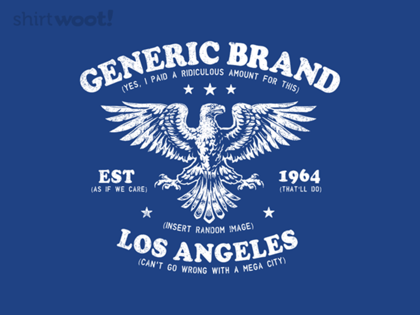 Woot!: Generic Brands - $15.00 + Free shipping