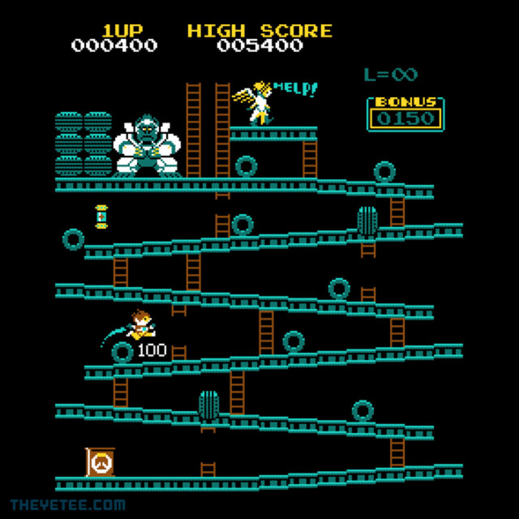 The Yetee: OverKong