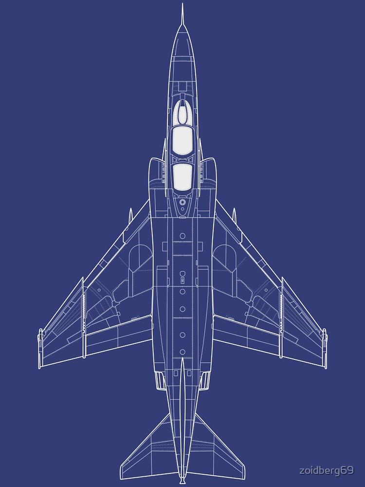 RedBubble: McDonnell Douglas F-4 Phantom II Blueprint