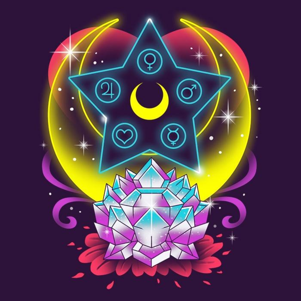 Once Upon a Tee: Moon Crystal Power
