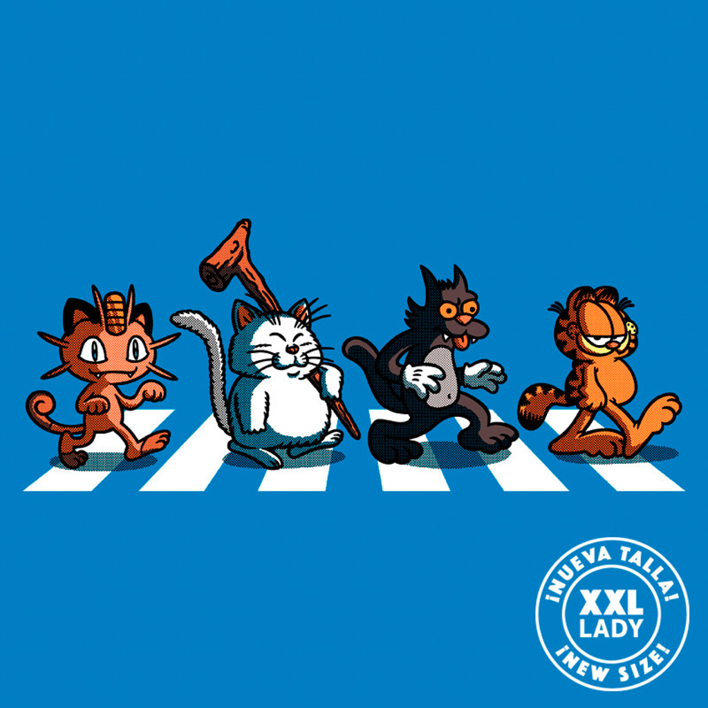 Pampling: Cats on Abbey Road