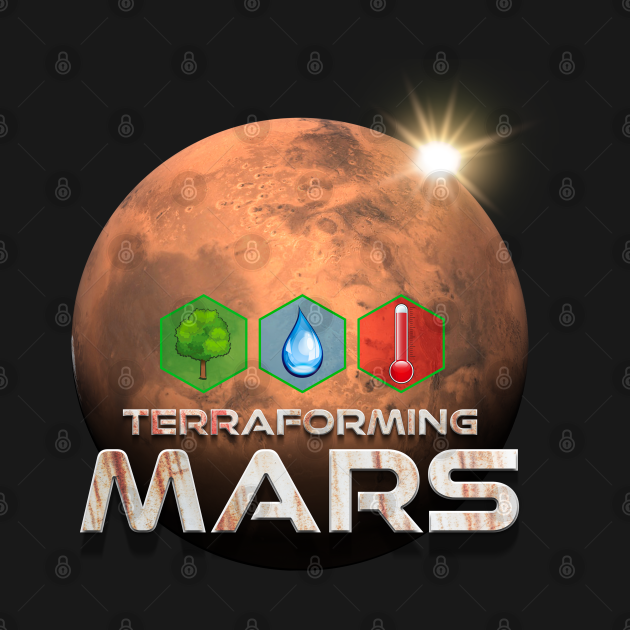 TeePublic: Terraforming Mars Hex Graphic