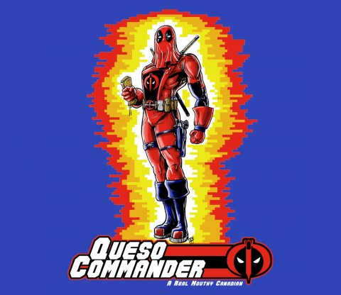 TeeFury: Queso Commander