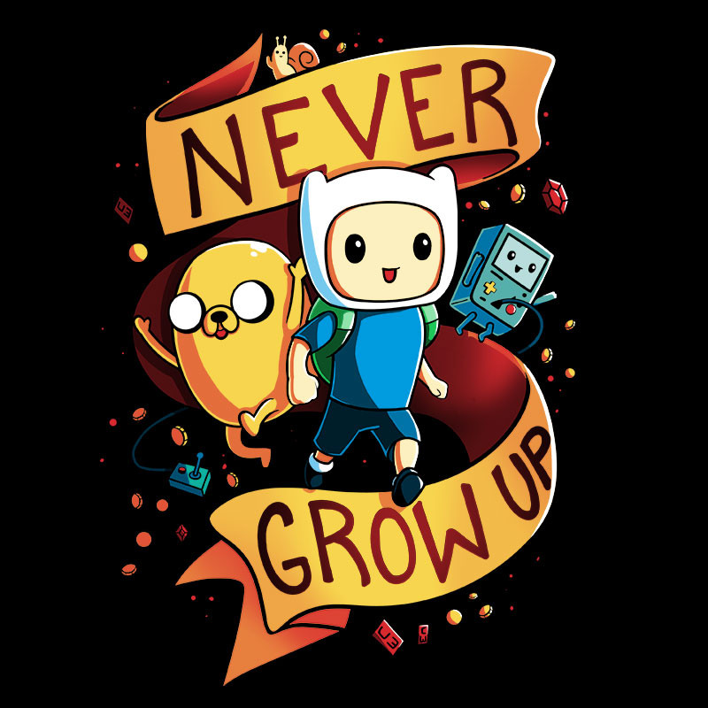 TeeTurtle: Never Grow Up