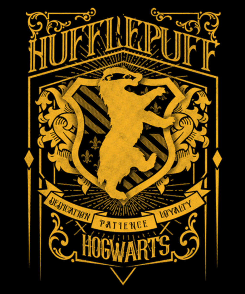 Qwertee: Wizardry Badger House