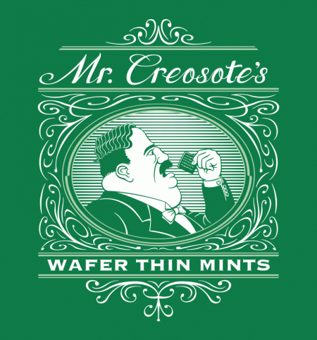 BustedTees: Wafer Thin Mints